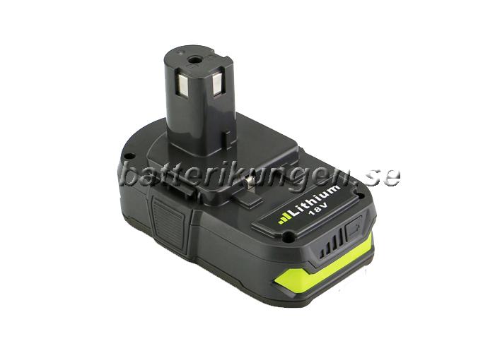 Kända Ryobi: Batteri till Ryobi One+ - 2.500 mAh - Batterikungen UM-16